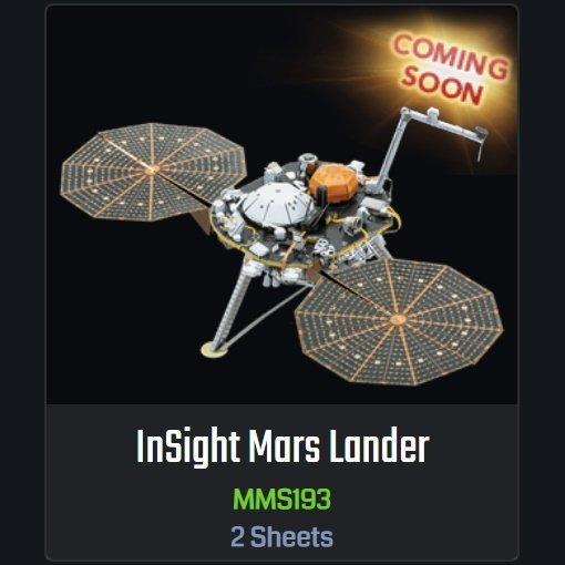 Coming Soon: InSight Mars Lander