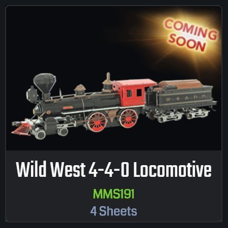 Wild West Changes: Another Train and Design Revisions