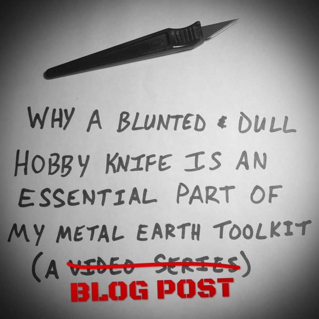 #TT: Hobby Knife Obsession