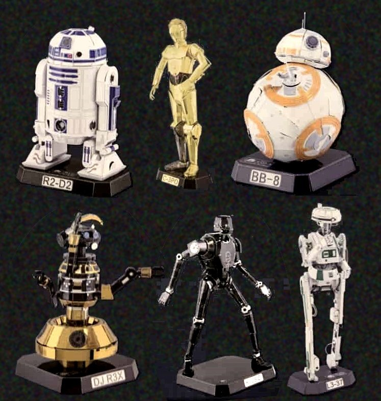 6 New Droid Models at Disney Parks