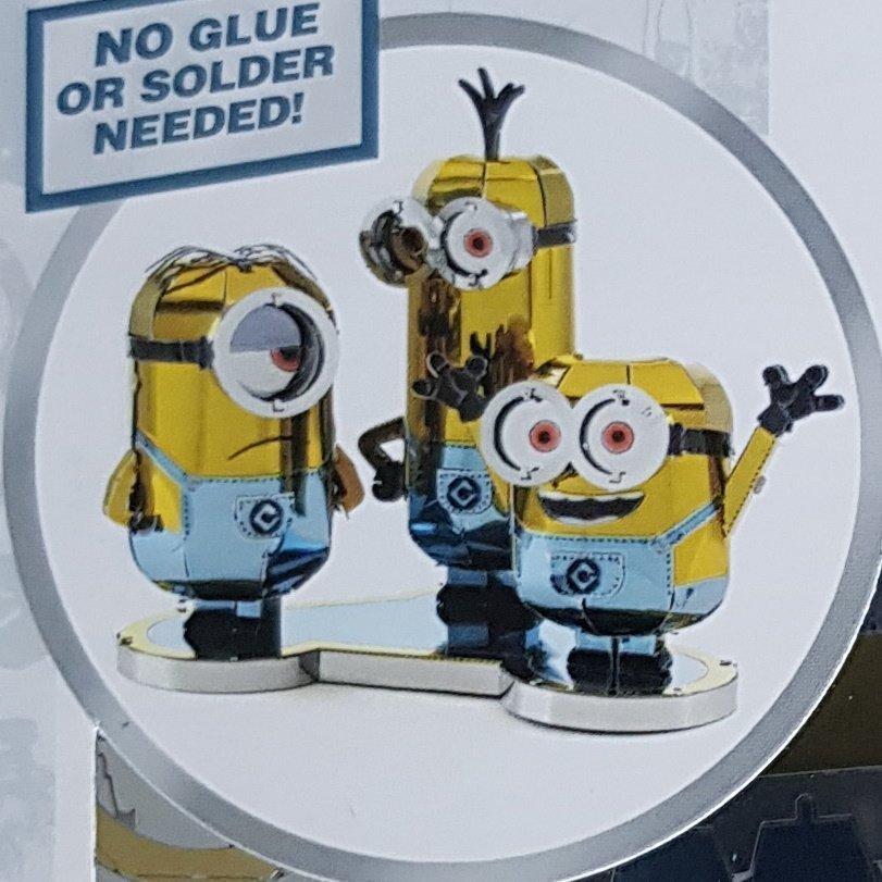 Universal Studios Minions Model