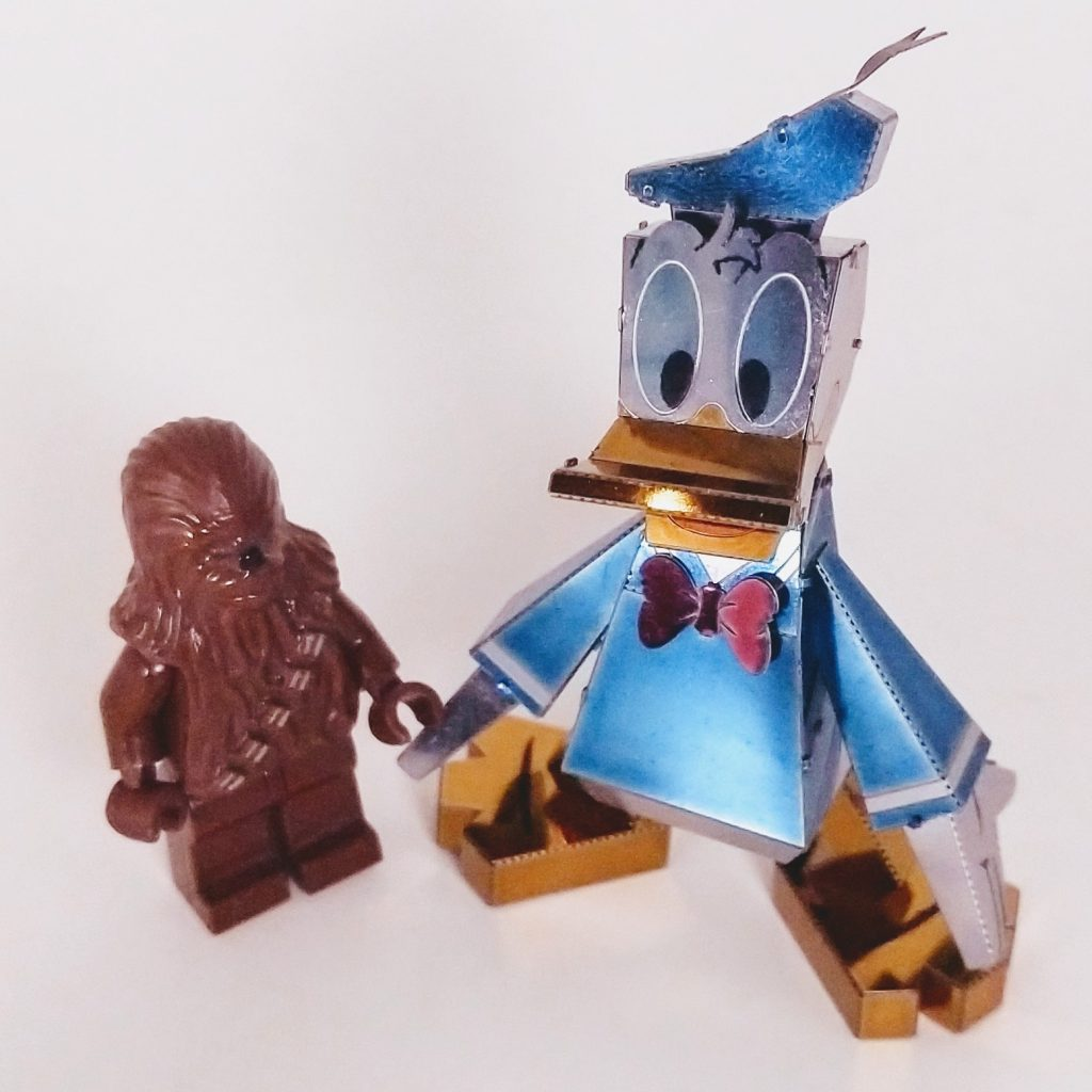 Build: Donald Duck