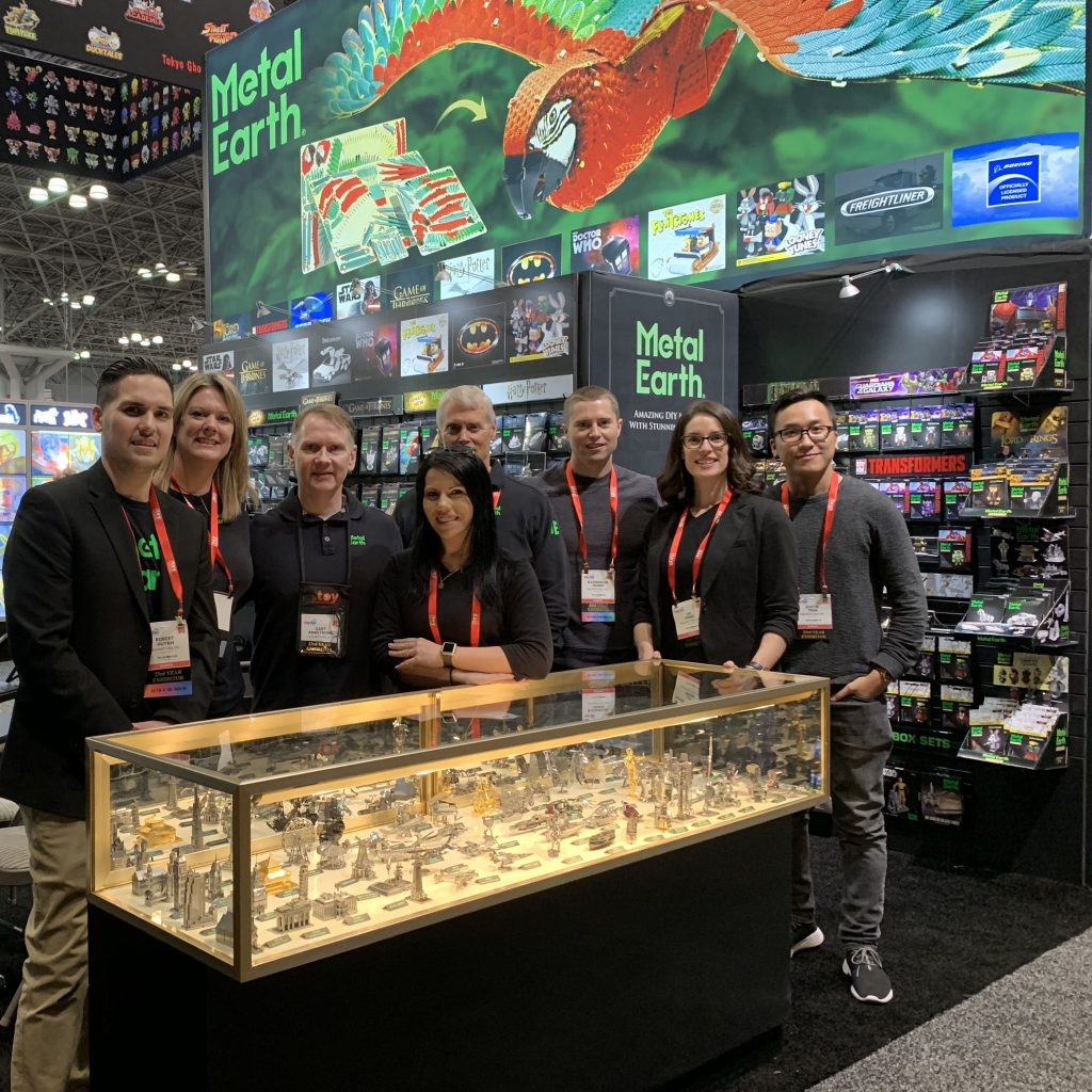 Meet Metal Earth At New York Comic Con!