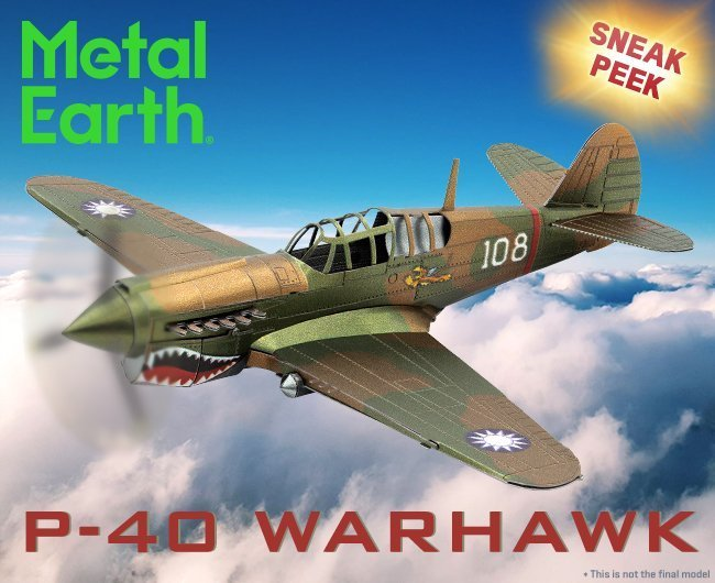 Sneak Peek: P-40 Warhawk