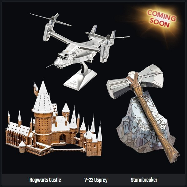 Coming Soon: Hogwarts Castle and Stormbreaker