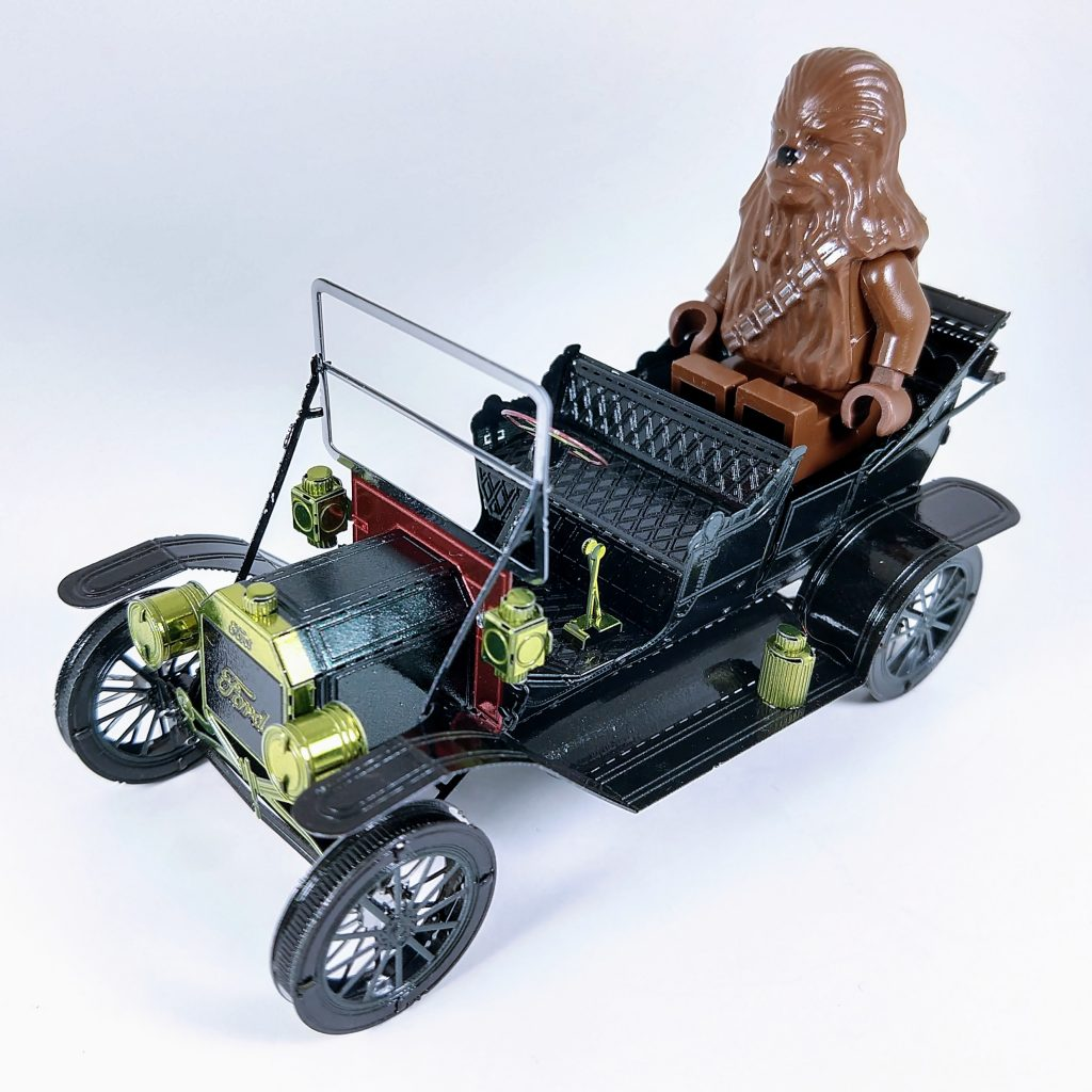 Review Build: 1908 Ford Model T (in green)