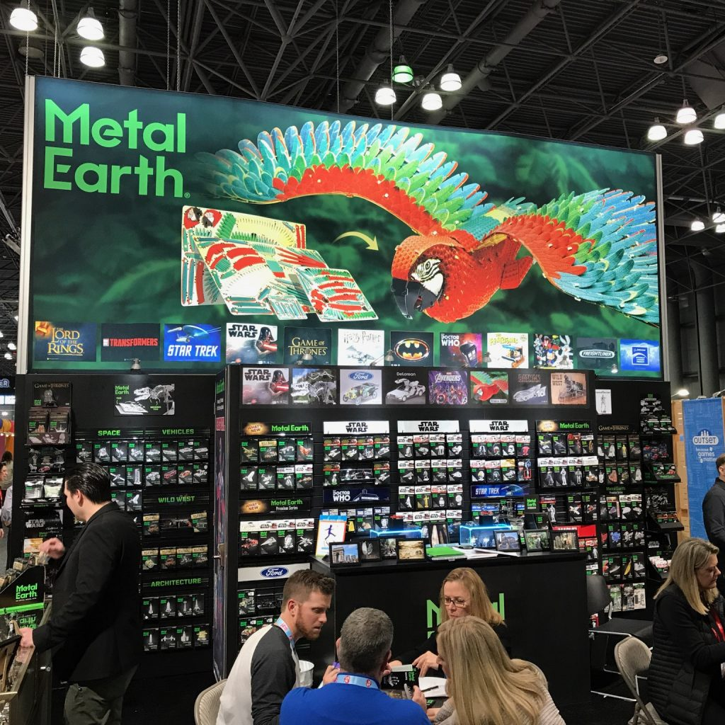 Metal Earth @ NYTF: The Big Picture