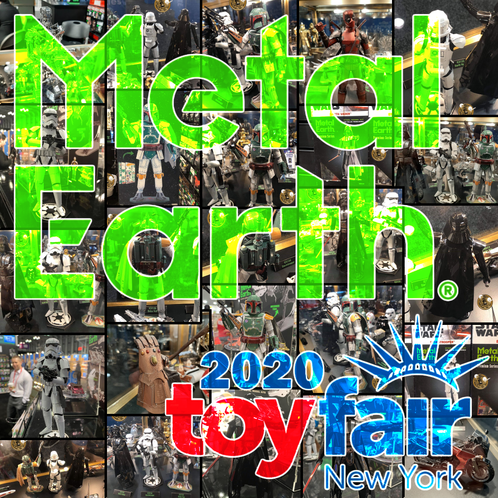 Metal Earth at the New York Toy Fair