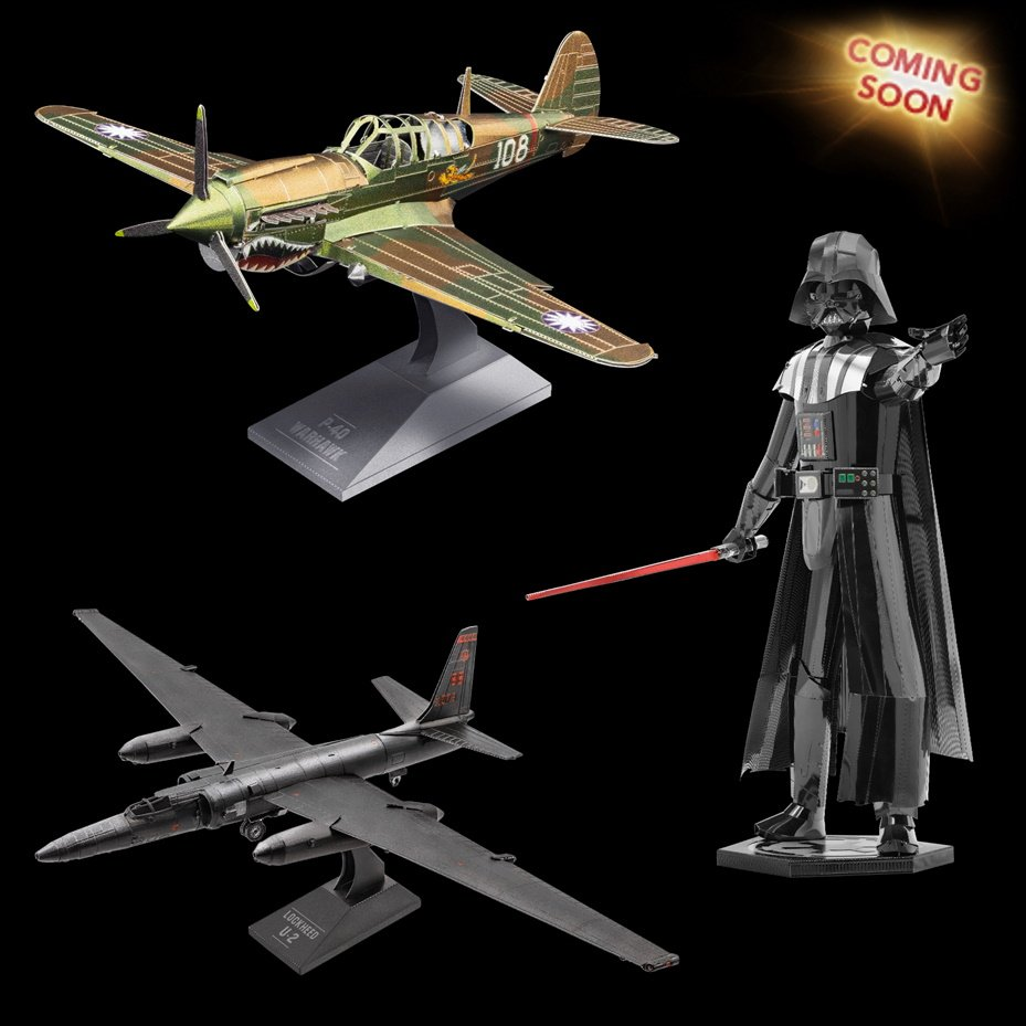 Vader, Warhawk and Dragon Lady Coming Soon!
