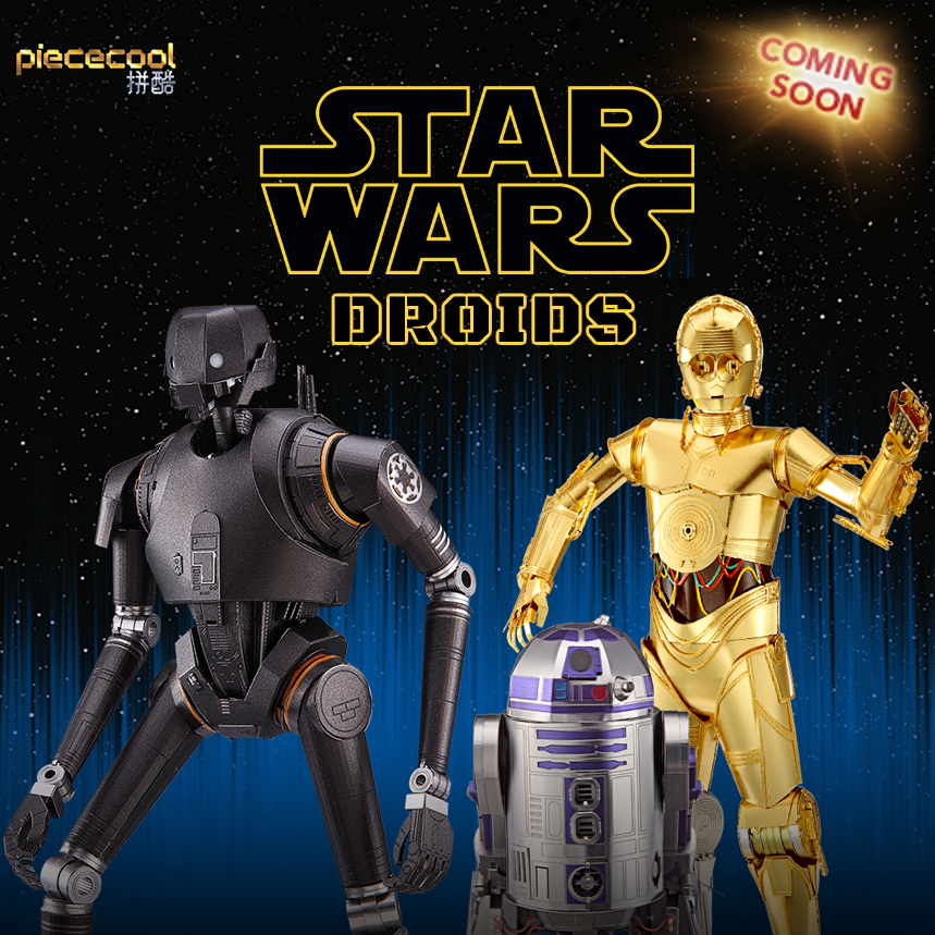 Coming Soon: Piececool Droids!