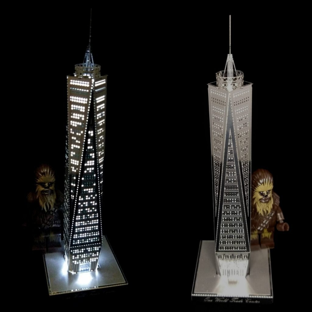 Mod: One World Trade Center Lit Up