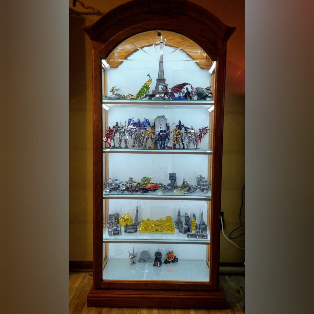 New Curio Cabinet Display (Project)