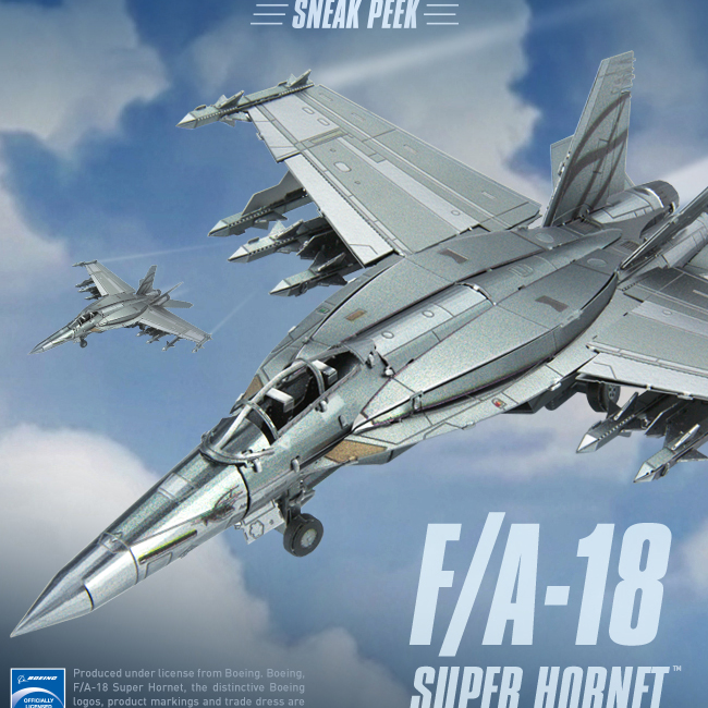Coming Soon: F/A-18 Super Hornet
