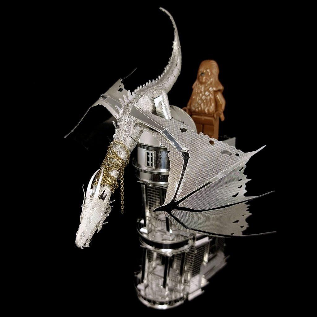 Build: Gringott's & Dragon