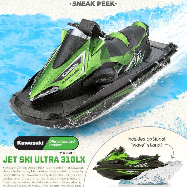 Sneak Peek: Jet Ski [Finally] Revealed