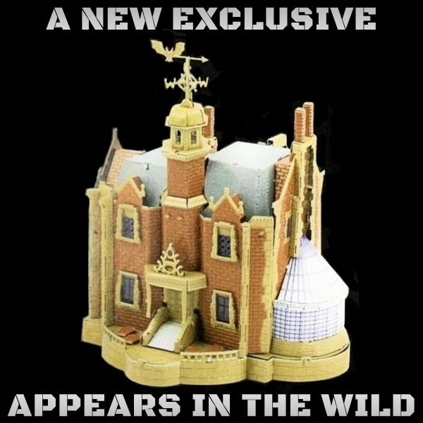 Exclusive: Haunted Mansion (Now in Color!)