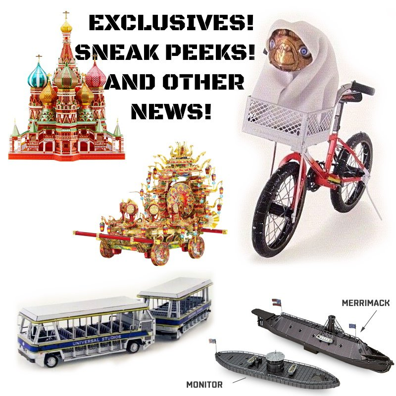 Exclusives, and Sneak Peeks, and News, Oh My!