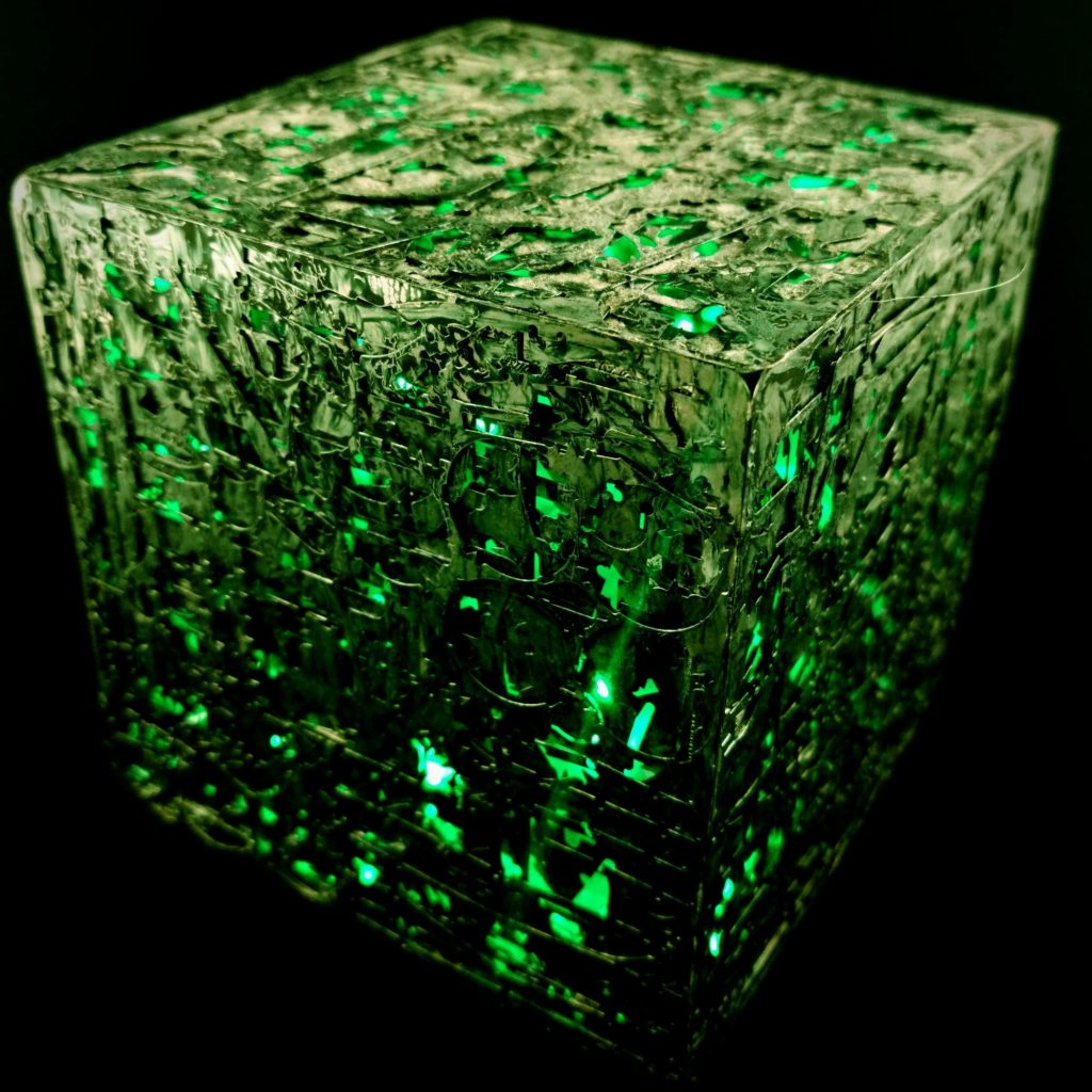 How to Build a Borg Cube Model